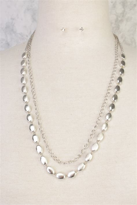 Layered Necklaces The Accessory by Silver High Layered Necklace Gemstone Accent
