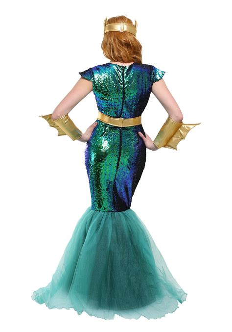 Fish Halloween Costume Women Sea Siren Costume Size
