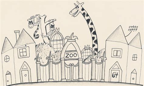 Drawing Zoo giraffe archives an vrombaut