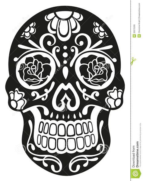 skull sugar skull royalty free stock photo image 33575295