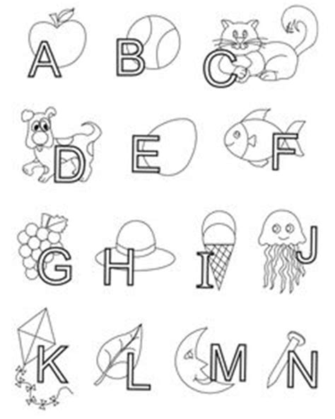 printable letters made from objects kleurplaten on pinterest pencil drawings coloring and