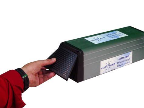 uv light air sterilizer germ away ambulance uv light air purifier sterilizer