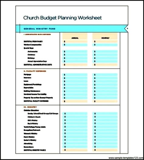 search results for free monthly budget template