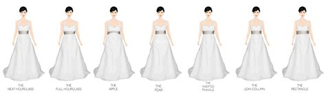 different shapes of wedding dresses wedding gown styles for shapes