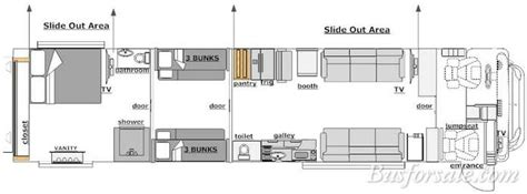 prevost rv floor plans 2012 prevost bus new and used buses motorhomes and rvs