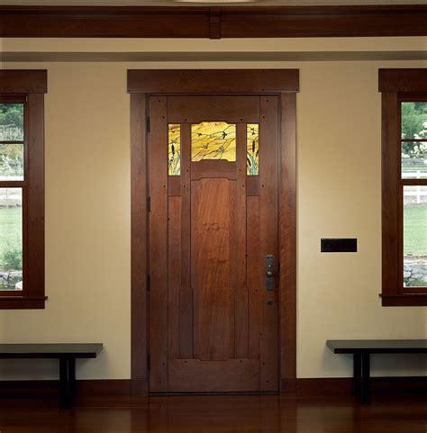 Custom Made Exterior Doors Custom Arts Crafts Entry Door By Clay Baker Design Llc Custommade