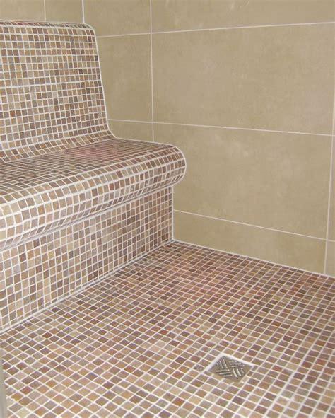 duschabtrennung ebenerdig begehbare dusche 90x90 cm bodengleiche dusche