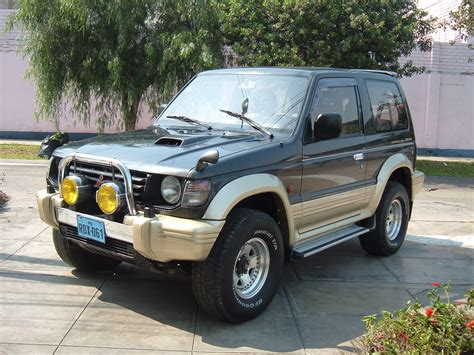 mitsubishi pajero 1997 1997 mitsubishi pajero mini pictures information and