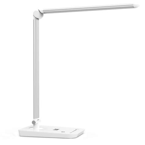 Smart Light Powered Flower Led Table Light Bedroom L Lu Tidur le 8w dimmable touch sensitive desk l 7 level brightness le 174