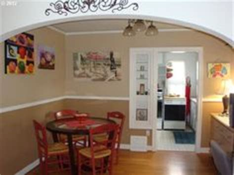 1000 images about a splash of color on dining rooms two tone paint and chairs