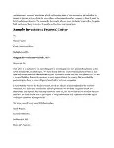 Letter To Investor Best Photos Of Sle Letter Template Business Letter Template Sle