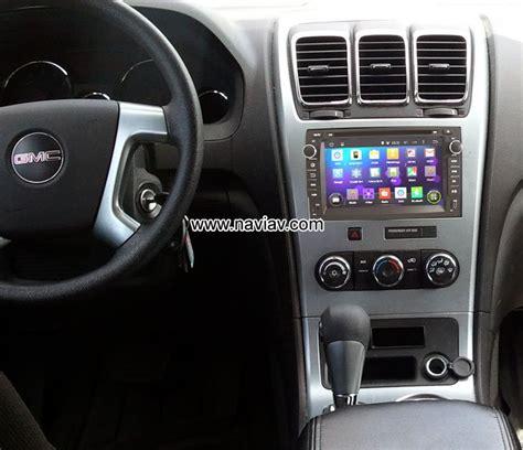 format video dvd gmc gmc acadia android 4 4 car dvd gps player radio multimedia