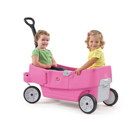 step 2 all around wagon pink step 2 all around wagon pink toys ride on toys