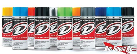 new colors for duratrax polycarbonate paints 171 big squid rc news reviews and more