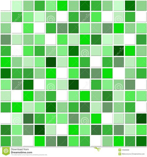 Ceramic Home Decoration green mosaic tiles stock illustration image of ornament