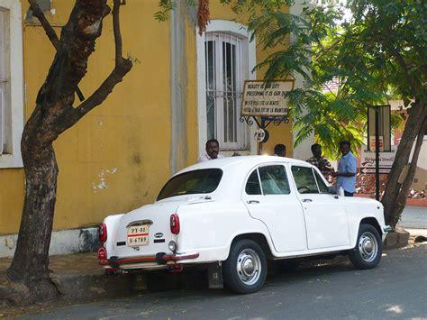 pondichery carte postale de la en inde