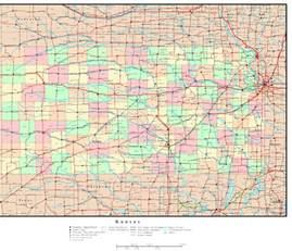 us map kansas state usa map kansas state