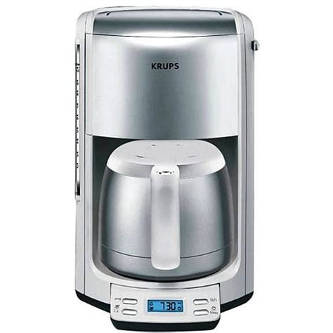Krups FMF5 11 10 Cup Thermal Coffee Maker   11923219   Overstock.com Shopping   Great Deals on
