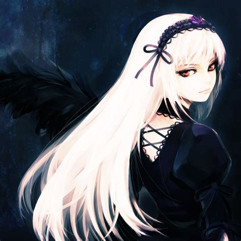 Or Anime Suigintou Rozen Maiden Image 221527 Zerochan Anime Image Board