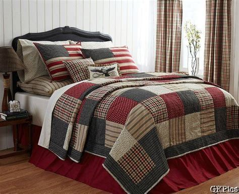 Patchwork Quilt Comforter - victory 4 pc patchwork quilt bedding set americana