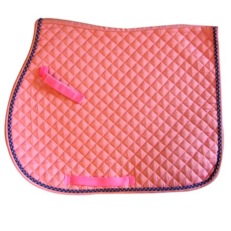 Quilted Pads by Saddle Pads All Purpose Quilted Saddle Pads Tack Co
