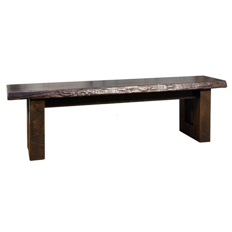 solid wood tv bench knex live edge bench home envy furnishings solid wood