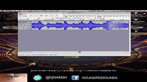 tutorial youtube audacity audacity tutorial split large file into multiple tracks