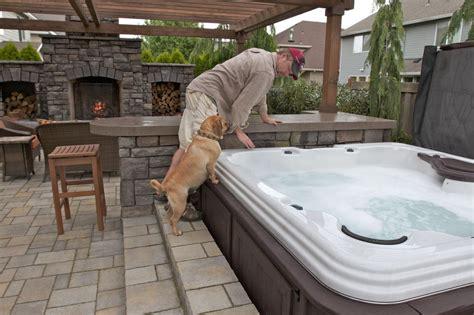 backyard hot tub ideas backyard hot tubs on pinterest