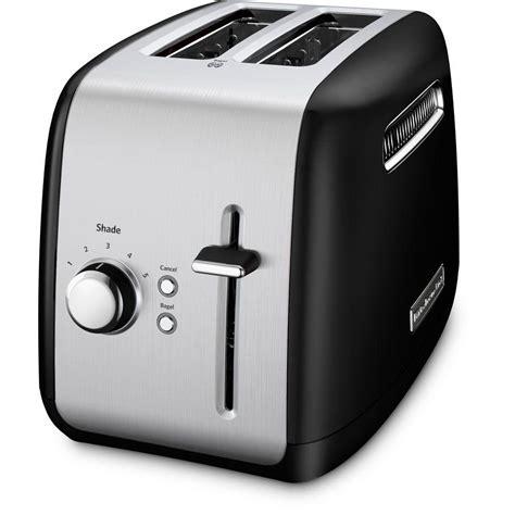 Black Silver Toaster Black Decker 4 Slice Toaster In Black T4569b The Home Depot