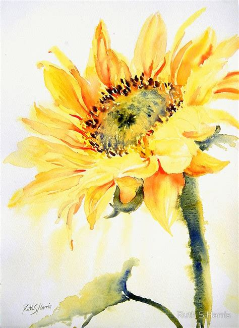 watercolor tutorial sunflowers 460 best images about sunflower paintings on pinterest