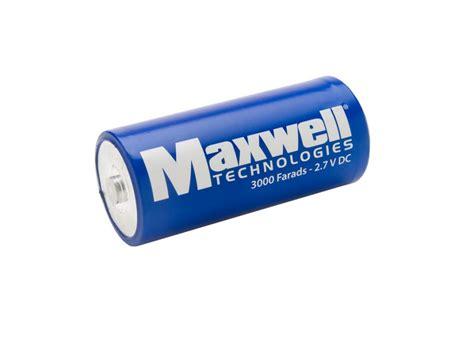 maxwell ultracapacitor lifetime capacitors thegreenage