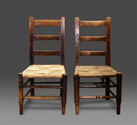 ropework chairs and seats the back of the has a