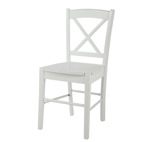 chaise blanche 343 chaise en h 233 v 233 a blanche