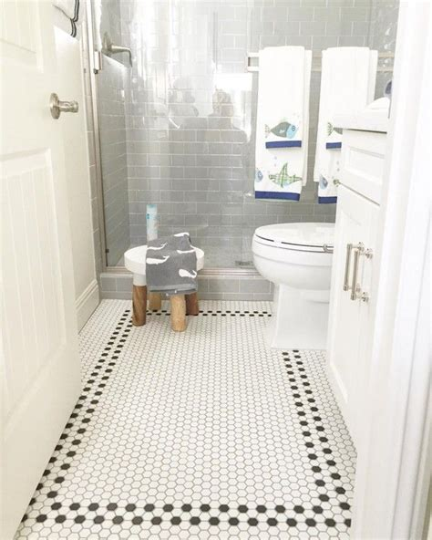 Bathroom Tile Floor Ideas For Small Bathrooms | 30 best images about small bathroom floor tile ideas on