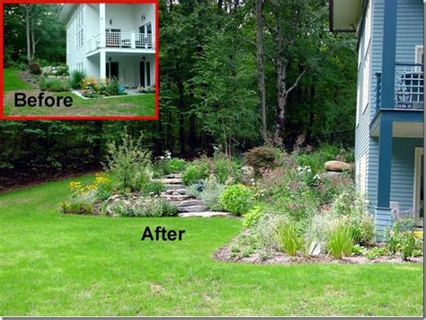 sloped backyard before and after sloped backyard before and after ztil news