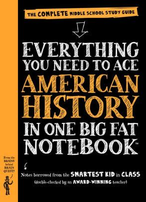 everything you need to ace everything you need to ace american history in one big