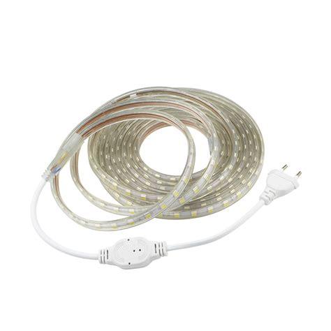 ac led light strip ac 220v smd 5050 led strip flexible ribbon light 1m 2m 3m