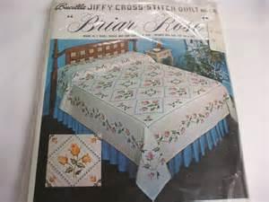 more vintage applique and cross stitch quilt kits