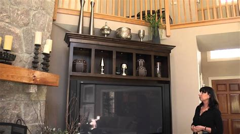 tips on decorating how to decorate the top of an entertainment center