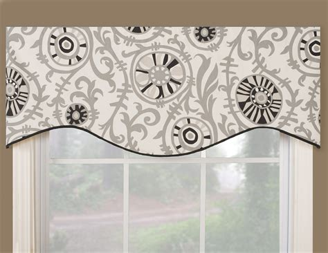 valance ideas vcny infinity sheer window scarf valance 54x216