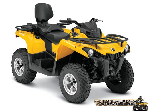 Can L by New 2015 Outlander L 450 Model Specs Can Am Atv Forum
