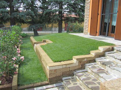 muretto giardino progettazione giardini monza e brianza realizzazione