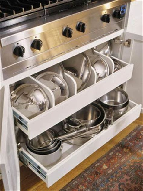 kitchen storage ideas for pots and pans decor design april 2009
