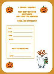 free printable halloween baby shower invitations free printable halloween baby shower game halloween
