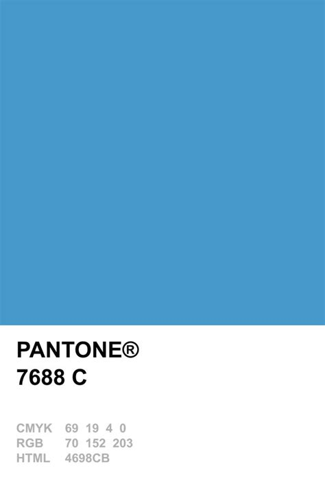 pantone s pantone 7688 c pantone colour recipes pinterest pantone