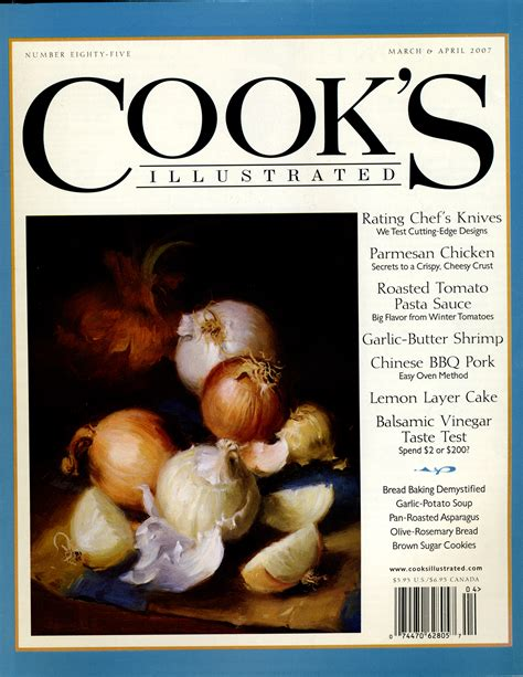 cook s illustrated cook s illustrated cover 2007 food illustration