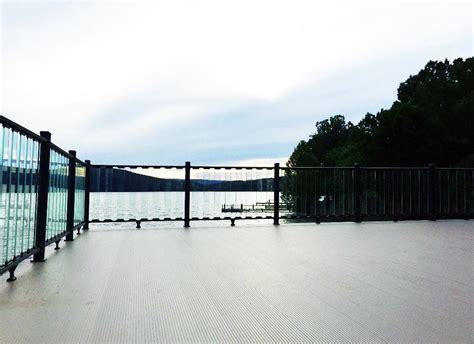 boat dock height boat dock railing dock railing ideas picket dock rail