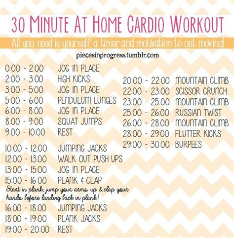 33 best images about at home workout plans on