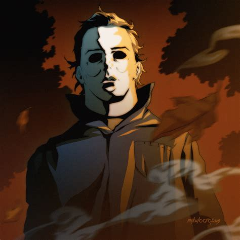 halloween countdown 2 michael myers by mikuloctopus on