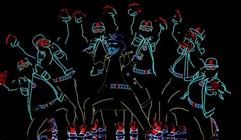 america s got talent light balance light balance dancers light up the stage on america s got